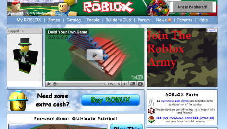 Old download roblox update